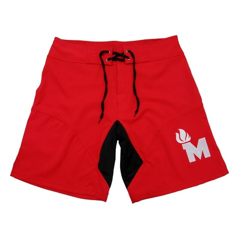 Pantalones Shorts Rojo Crossfit Maximus Crosslifting